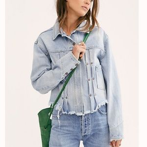 FREE PEOPLE | Dillon Denim Jacket NEW